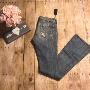 7 for All Mankind Rocker Jeans- Size 24
